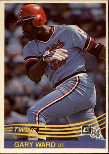 Photo of 1984 Donruss #192 Gary Ward