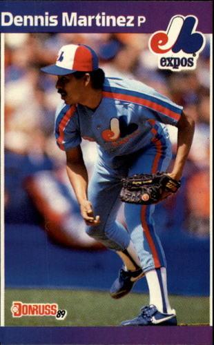 Photo of 1989 Donruss #106 Dennis Martinez