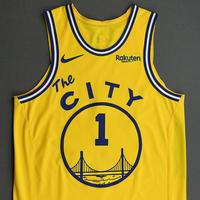 Damion Lee - Golden State Warriors - Game-Worn Classic Edition 1966-67 Home Jersey - 2019-20 NBA Season