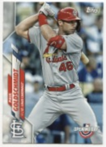 Photo of 2020 Topps Opening Day #66 Paul Goldschmidt
