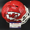 NFL - Chiefs 2015 Team Signed Helmet with 23 signature (including Travis Kelce, Eric Berry, Tamba Hali, D. Johnson)