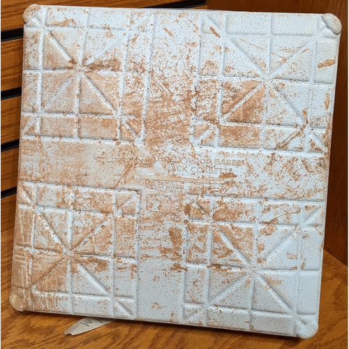 Photo of October 1, 2016 Red Sox vs. Blue Jays Game Used 3rd Base
