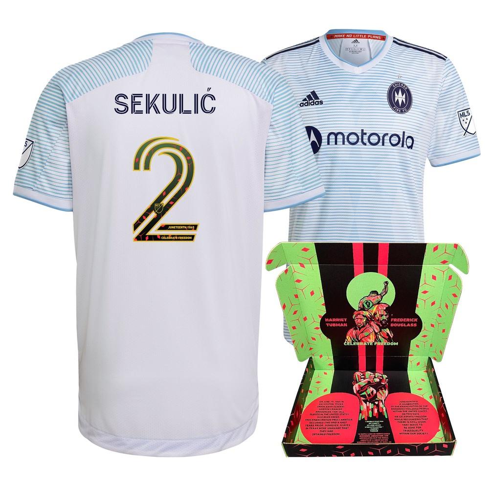 Boris Sekulić  Chicago Fire FC Match-Used & Signed