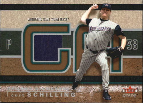Photo of 2003 Fleer Genuine Article Insider Game Jersey #CS Curt Schilling