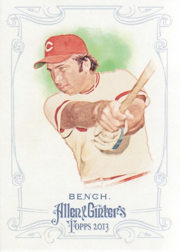 Photo of 2013 Topps Allen and Ginter #38 Johnny Bench