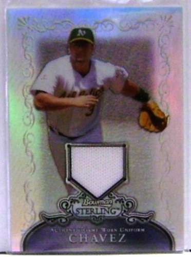 Photo of 2006 Bowman Sterling Refractors #EC Eric Chavez Pants