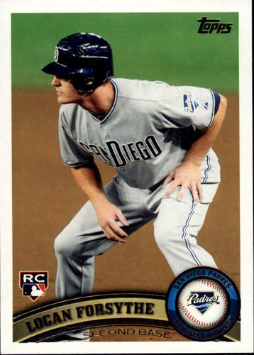 Photo of 2011 Topps Update #US104 Logan Forsythe Rookie Card