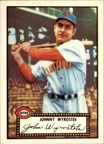 Photo of 1983 Topps 1952 Reprint #13 Johnny Wyrostek