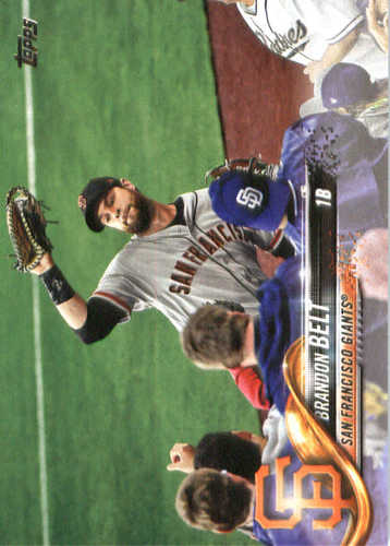 Photo of 2018 Topps #210 Brandon Belt