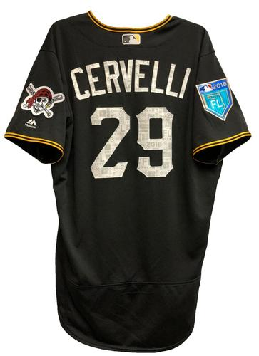 Photo of Francisco Cervelli Game-Used 2018 Spring Training Jersey
