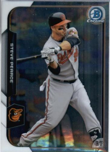 Photo of 2015 Bowman Chrome #137 Steve Pearce