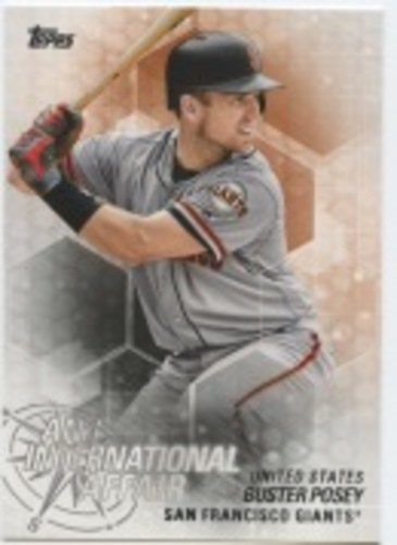 Photo of 2018 Topps Update An International Affair #IA44 Buster Posey