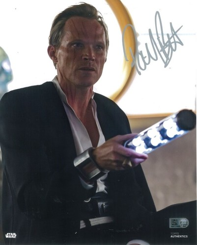 Paul Bettany As Dryden Vos 8x10 Autographed in Silver Ink Photo