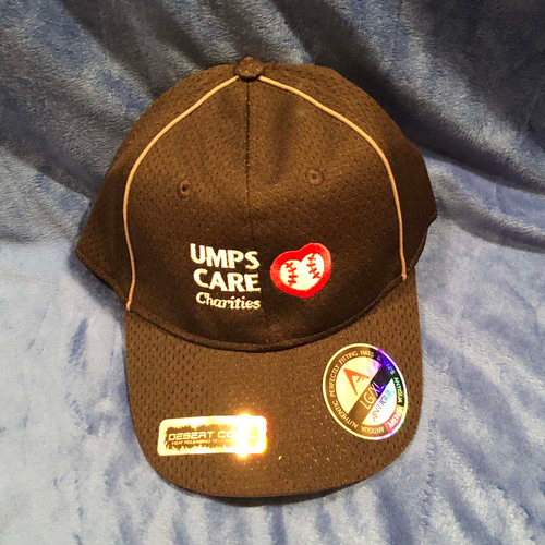 Photo of UMPS CARE AUCTION: UMPS CARE Baseball Cap, Black with Grey Piping, Size L/XL