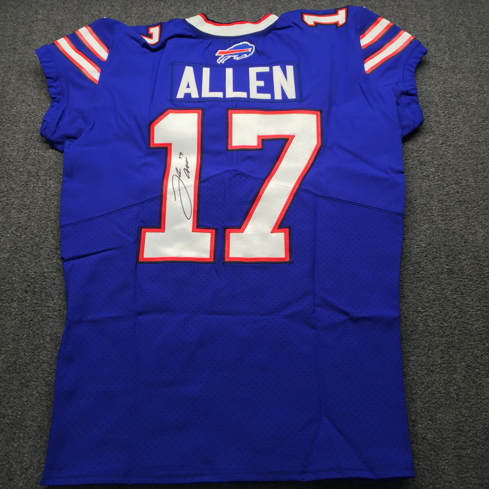 finest selection cf542 afa82 NFL Auction | Bills - Josh Allen Signed Jersey Size 44