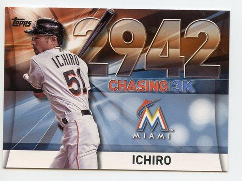 Photo of 2016 Topps Chasing 3000 #300037 Ichiro Suzuki