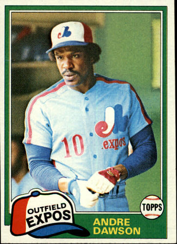 Photo of 1981 Topps #125 Andre Dawson