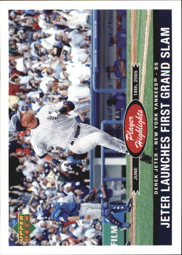 Photo of 2006 Upper Deck Player Highlights #PH24 Derek Jeter