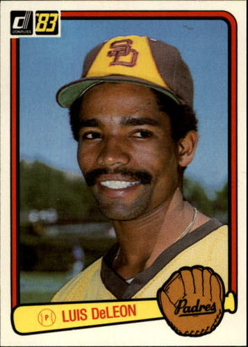 Photo of 1983 Donruss #296 Luis DeLeon