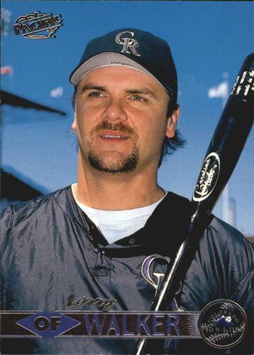 Photo of 1999 Pacific #154 Larry Walker *