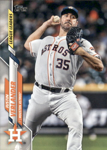 Photo of 2020 Topps #232 Justin Verlander LL