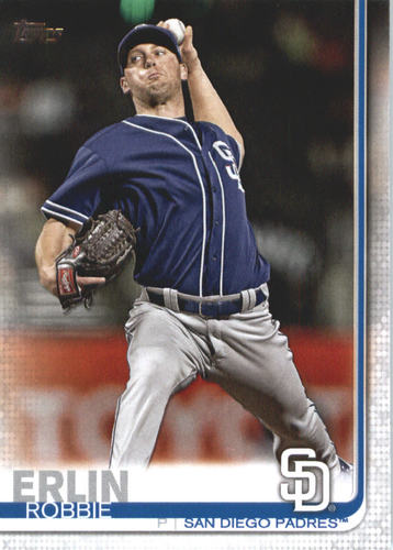 Photo of 2019 Topps #626 Robbie Erlin