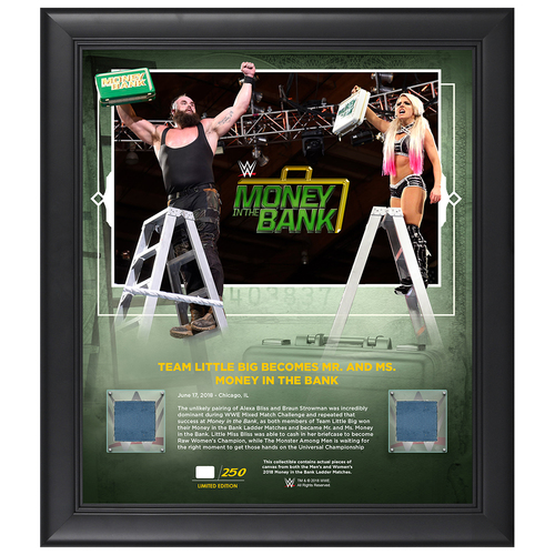 "Photo of Money In The Bank 2018 ""Team Little Big"" Limited Edition 15x17 Plaque (#1 of 250)"