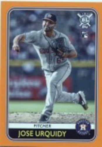 Photo of 2020 Topps Big League Orange #8 Jose Urquidy