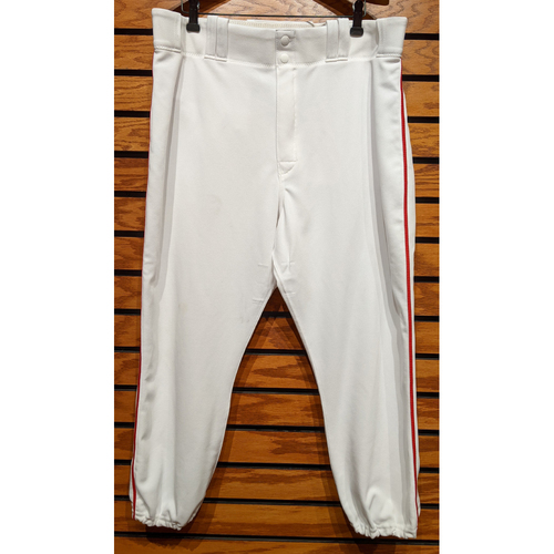 Red Sox Team Issued Home White Pants