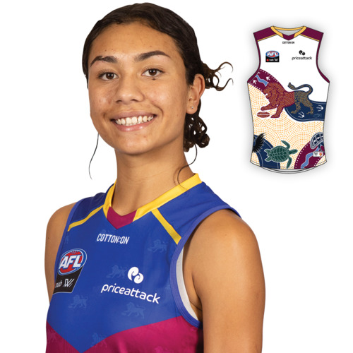 Photo of 2021 AFLW Indigenous Guernsey - Zimmorlei Farquharson