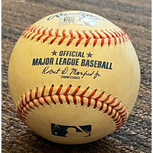 Photo of Random Game-Used Baseball - 2021 Season - 6/5 vs. Indians