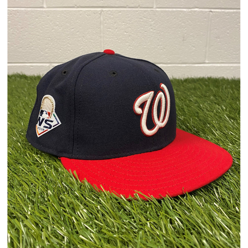 Photo of Dave Martinez Game-Used 2019 World Series Hat