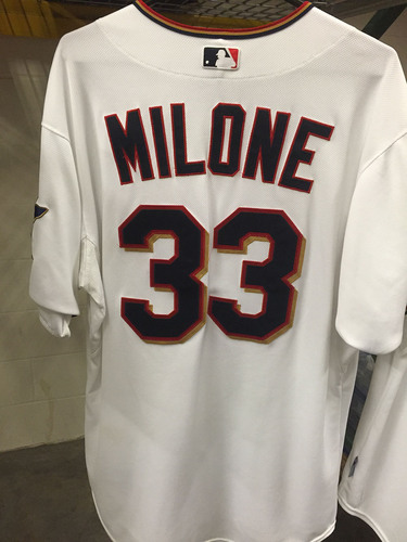 Tommy Milone # 33 - 2015 Team-Issued Jersey