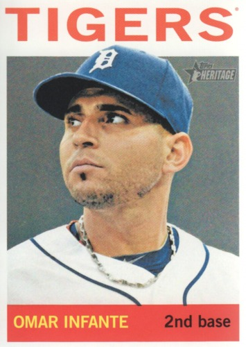 Photo of 2013 Topps Heritage #165 Omar Infante