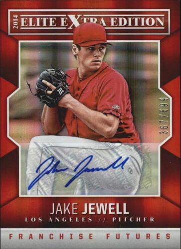 Photo of 2014 Elite Extra Edition Franchise Futures Signatures #30 Jake Jewell/699