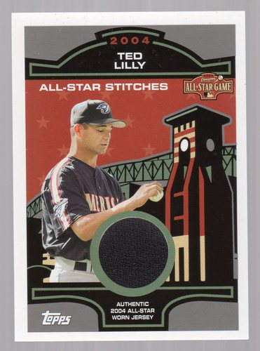 Photo of 2005 Topps All-Star Stitches Relics #TL Ted Lilly