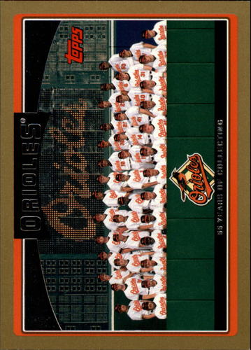 Photo of 2006 Topps Gold #268 Baltimore Orioles TC