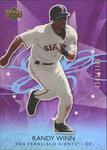 Photo of 2006 Upper Deck Future Stars Purple #60 Randy Winn