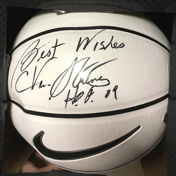Photo of Coach C Vivian Stringer Autographed Basketball