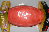 NFL - TEXANS KYLE FULLER SIGNED AUTHENTIC FOOTBALL
