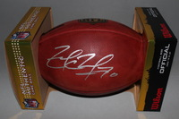NFL - COWBOYS ZACK MARTIN SIGNED AUTHENTIC FOOTBALL
