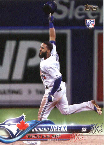 Photo of 2018 Topps #148 Richard Urena RC