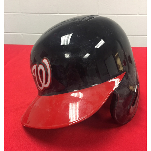 Photo of Game-Used Broken Helmet: Ryan Zimmerman