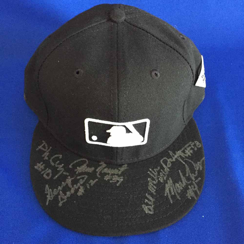 Photo of UMPS CARE AUCTION: 2017 World Series Crew Signed Base Cap - Size 7 5/8 - Not MLB Authenticated