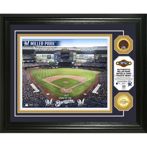 Photo of Milwaukee Brewers Dirt Coin Photo Mint