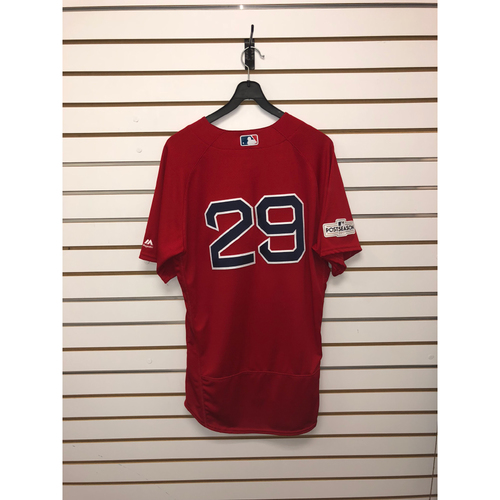 Photo of Roenis Elias Game-Used 2017 Home Alternate Jersey