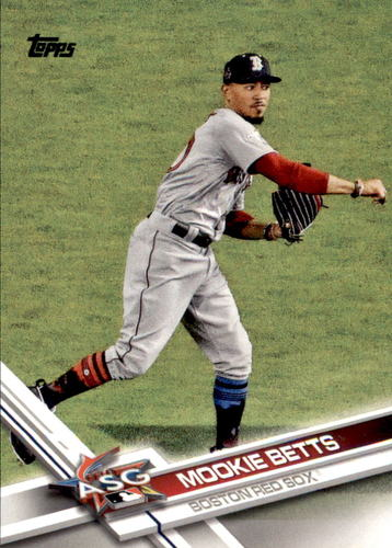 Photo of 2017 Topps Update #US18A Mookie Betts AS