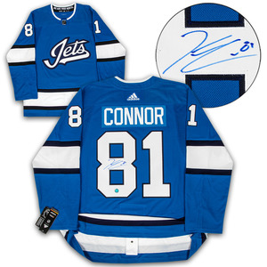 acc183d943f26 Kyle Connor Winnipeg Jets Autographed Aviator Alt Adidas Authentic Hockey  JerseyKyle Connor Winnipeg Jets Autographed Aviator Alt Adidas Authentic .