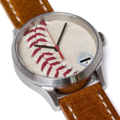 Photo of Tokens & Icons Los Angeles Dodgers Kenta Maeda MLB Debut Game-Used Baseball Watch