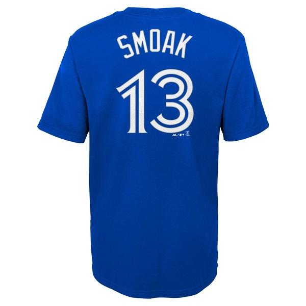 Toronto Blue Jays Youth Justin Smoak Player T-Shirt by Majestic